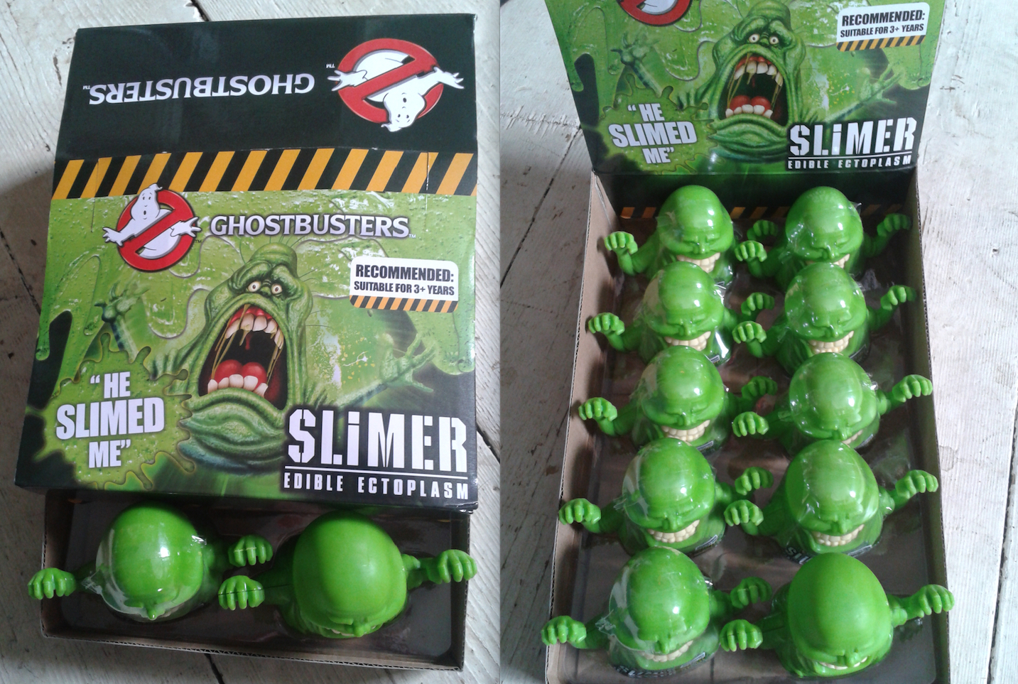Slimer Edible Ectoplasm Display Box - Ghostbusters
