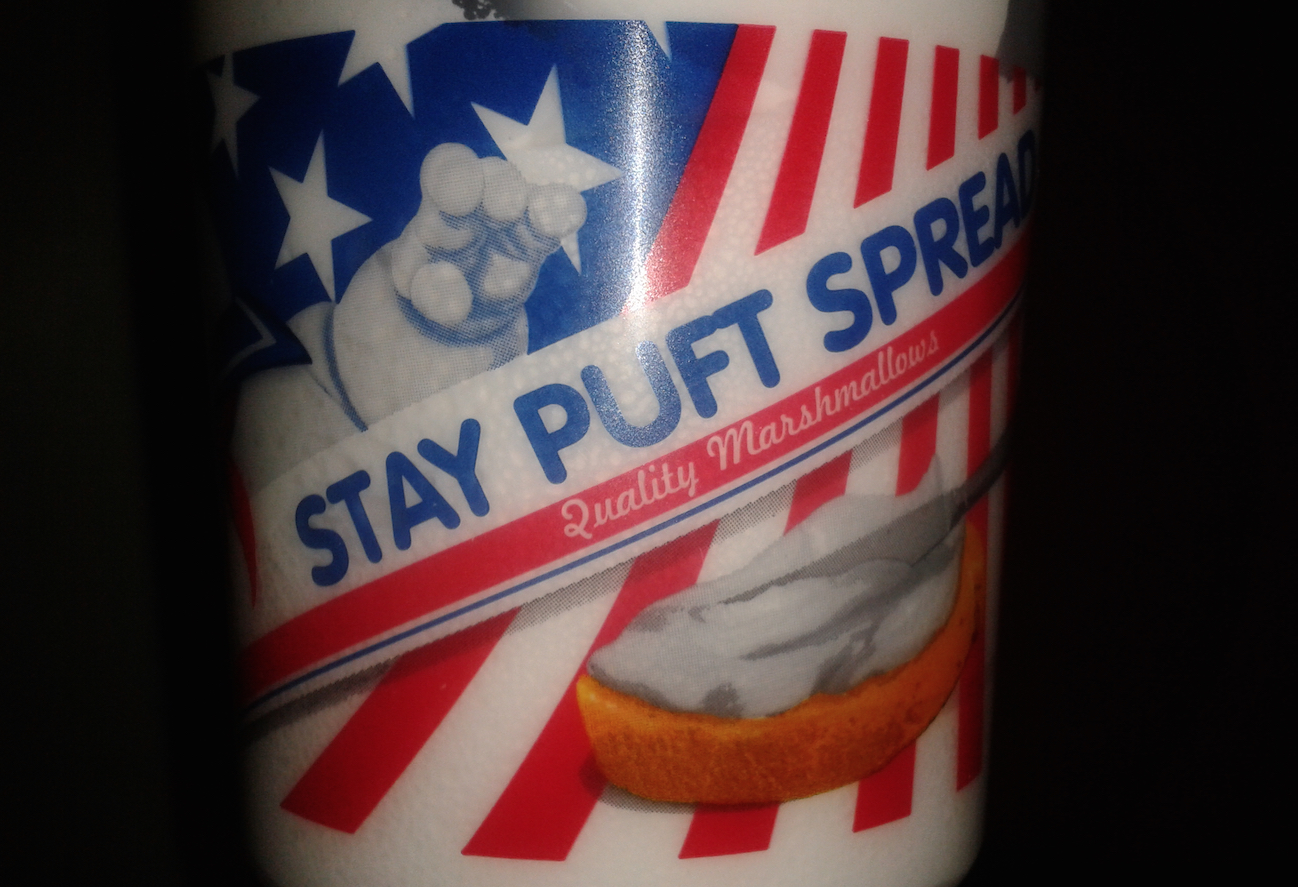 Ghostbusters Stay Puft Marshmallow Spread Review