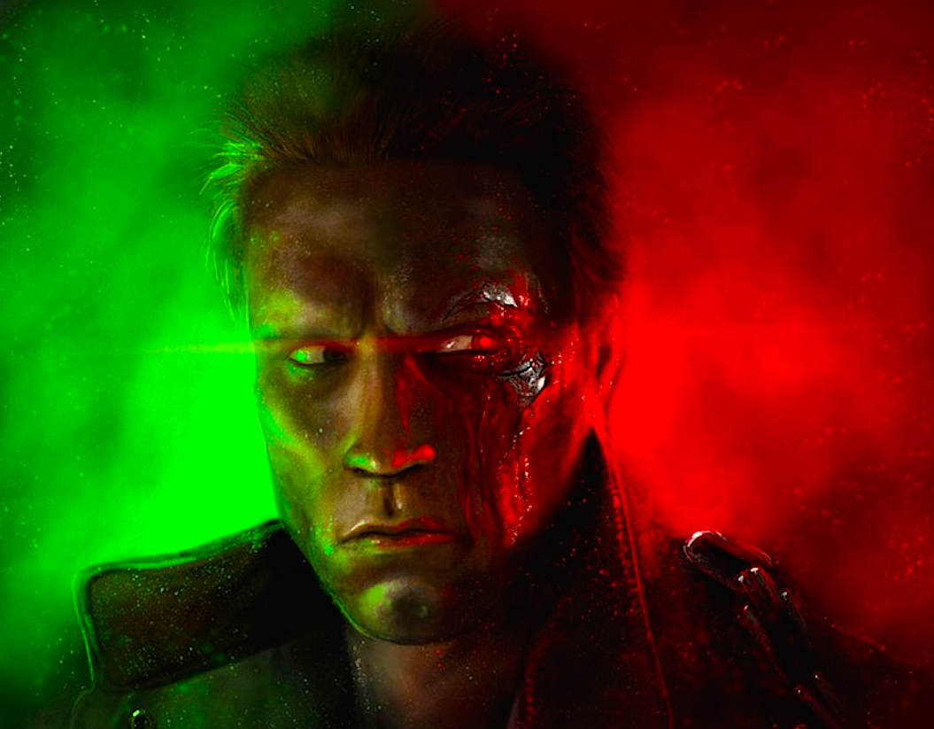 The Terminator Alternative Poster Art List - Halloween Love