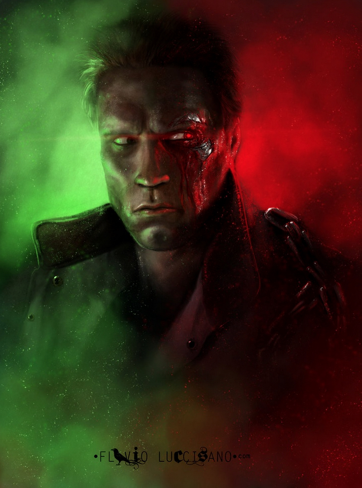 Alternative Art List : Terminator Flavio Luccisano