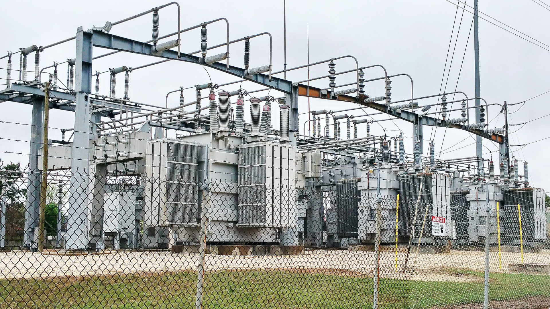 Texas Power Substation