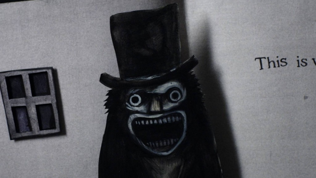 The Babadook scary