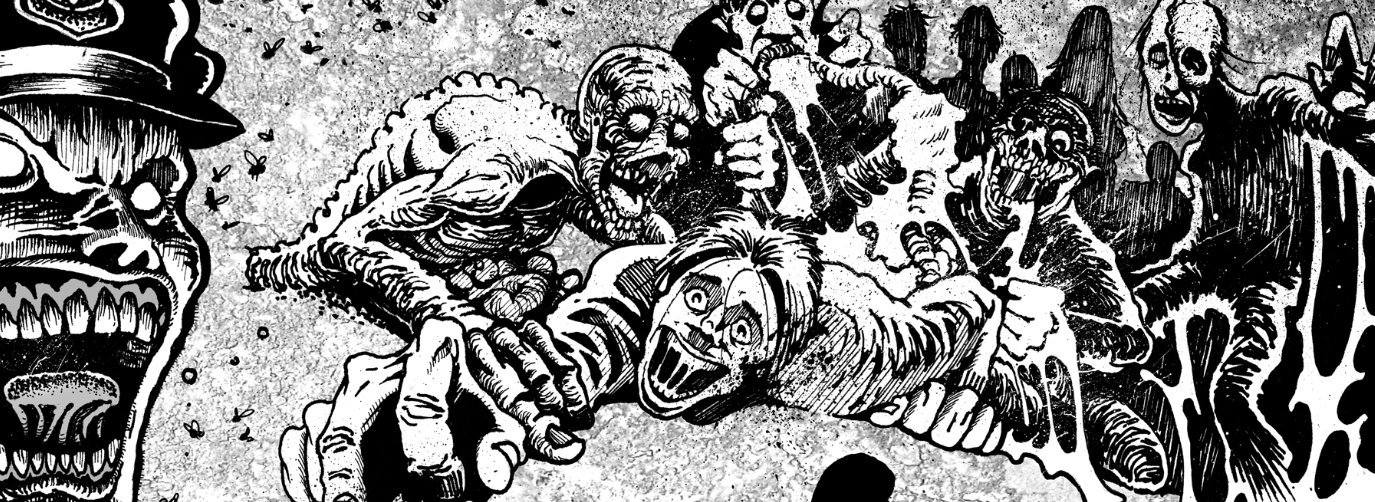 The Dead: Omnibus - New Interior Art Derek Rook