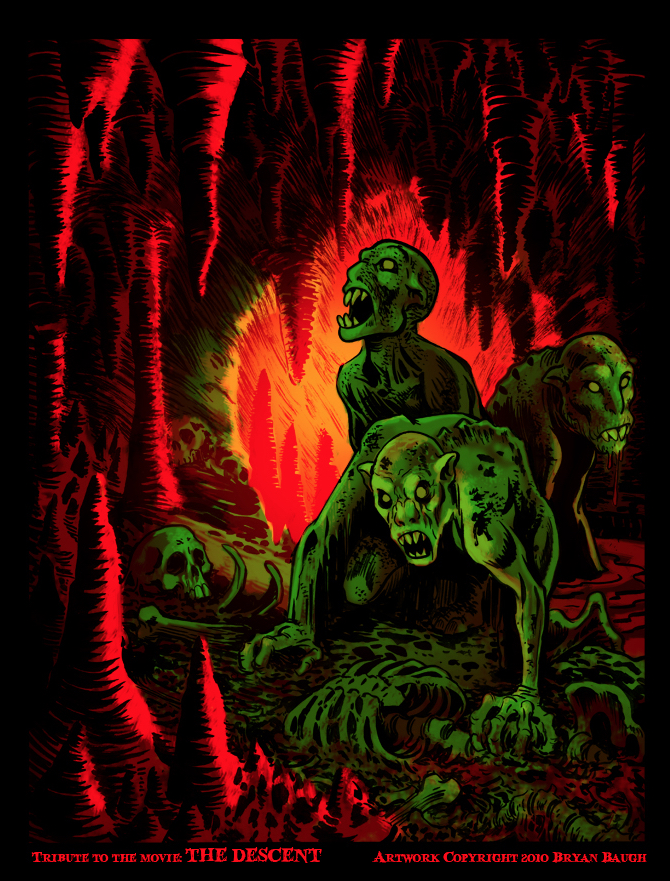Alternative Art List : The Descent Bryan Baugh