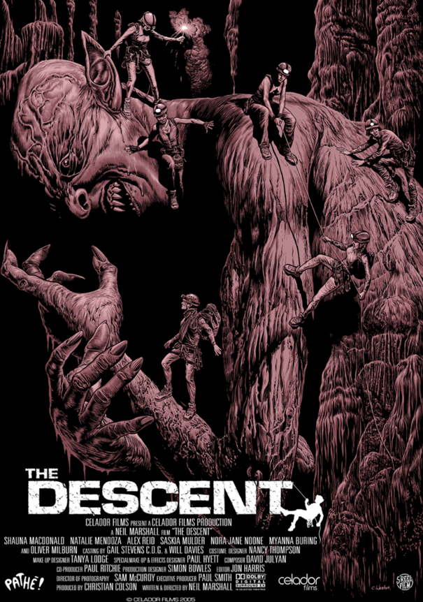 Image result for the descent poster
