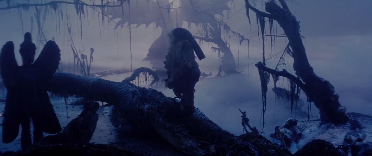The Exorcist Statue In Legend - Pic 1 The Swamp
