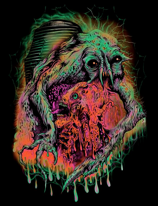 Alternative Art List : The Fly Cavitycolors