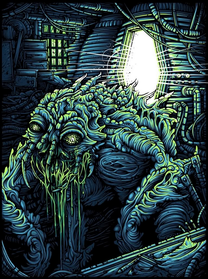 Alternative Art List : The Fly Dan Mumford