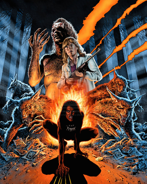 The Howling Blu-ray Art