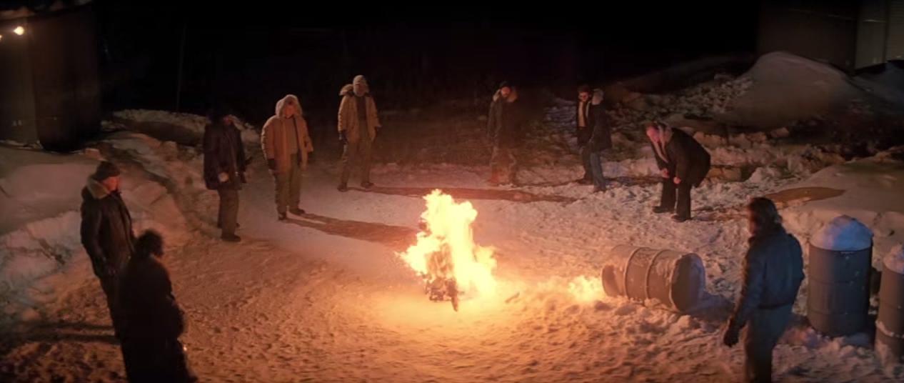 The Thing Burning Scene - Joel Polis Interview