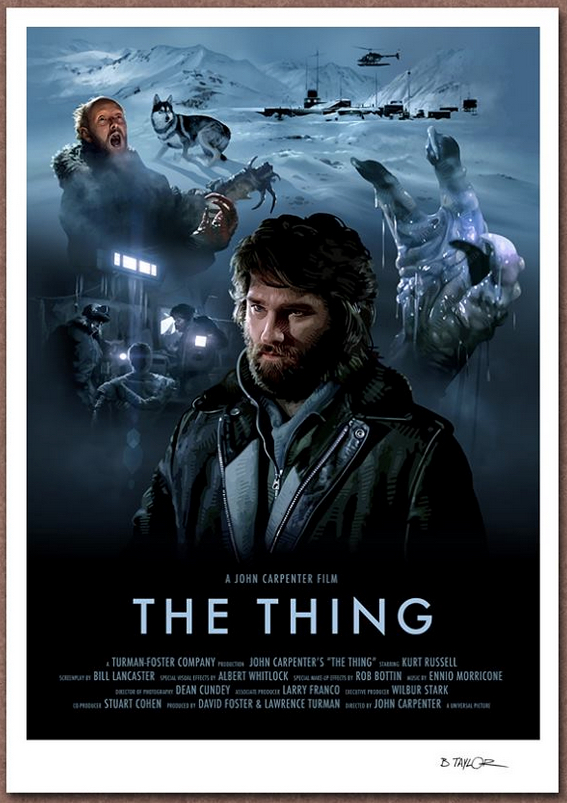 The Thing Poster Art : Candykiller