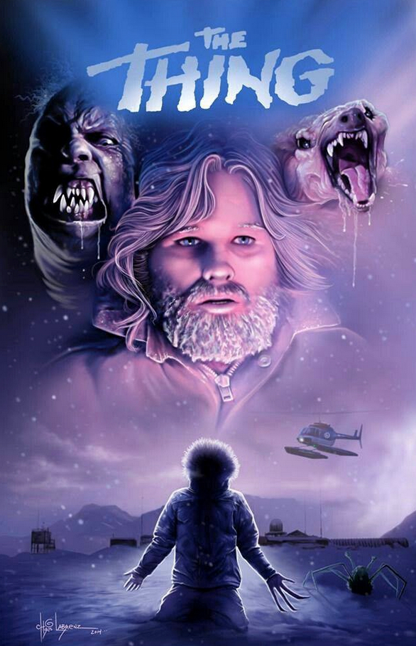 The Thing Poster Art : Chris Labrenz