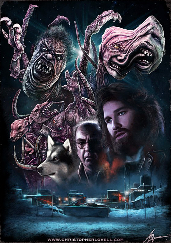 The Thing Poster Art : Christopher Lovell
