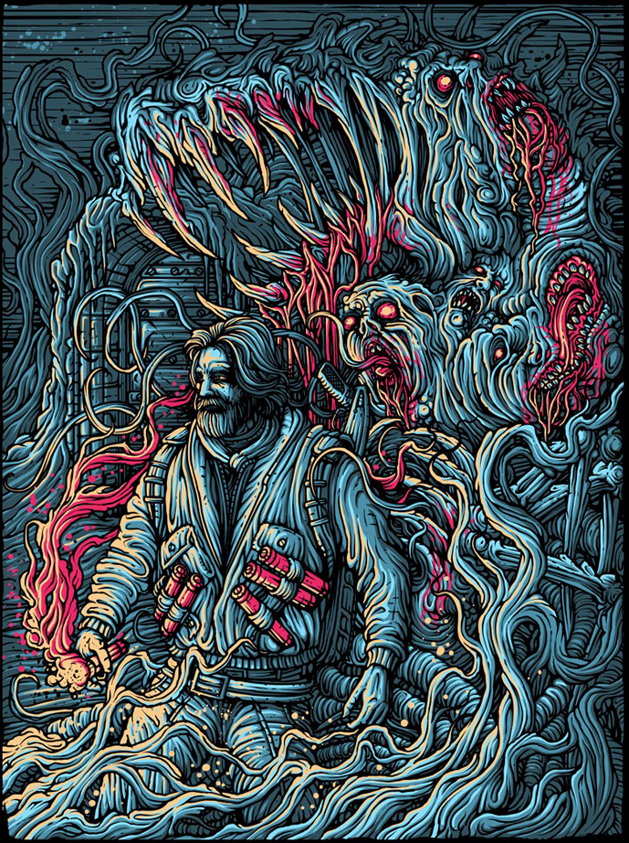 The Thing Poster Art : Dan Mumford