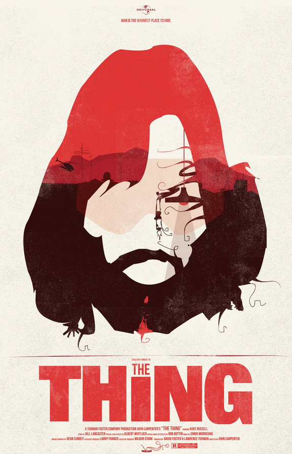 The Thing Poster Art : Fernando Reza