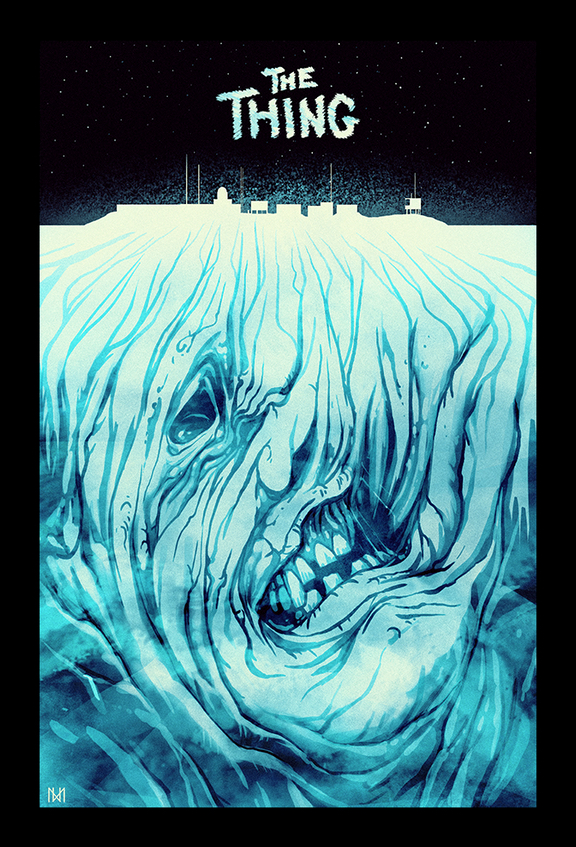 The Thing Poster Art : Nagy Norbert