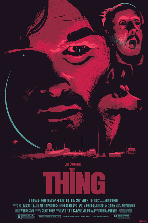 The Thing Poster Art : Paweł Durczok