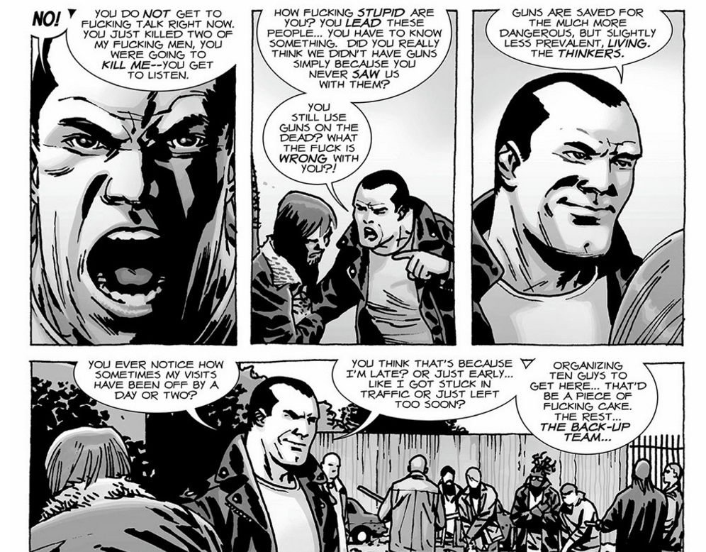 The Walking Dead - Negan Is Smart.