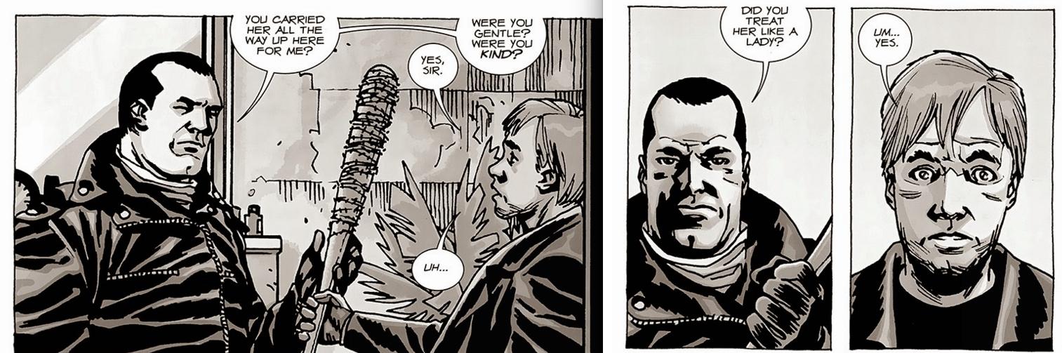 The Walking Dead - Negan Loves Lucille!