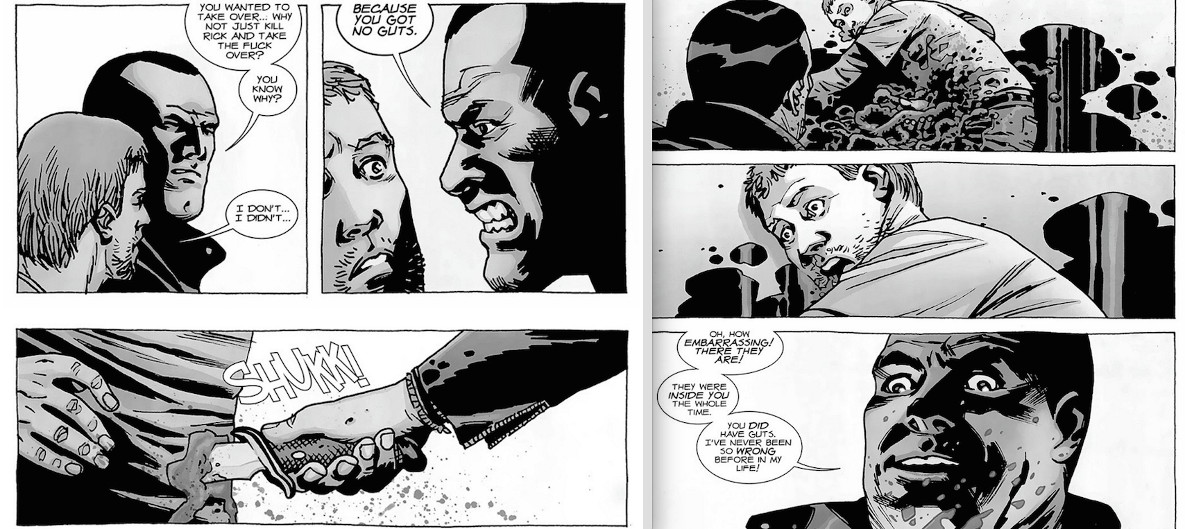 The Walking Dead - Negan Hates Cowards.