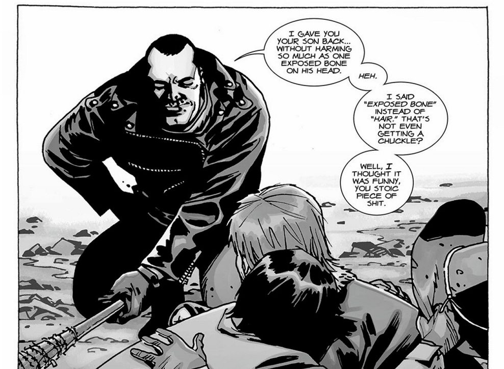 The Walking Dead - Negan likes to joke!