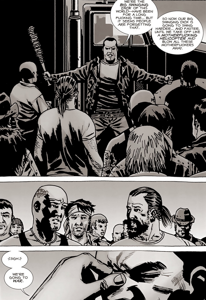 The Walking Dead - Negan and motivation