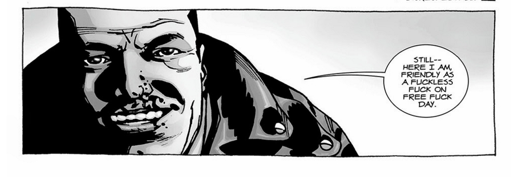 The Walking Dead - Negan Likes To Curse!