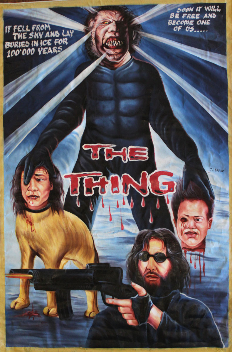 The Thing ghana poster