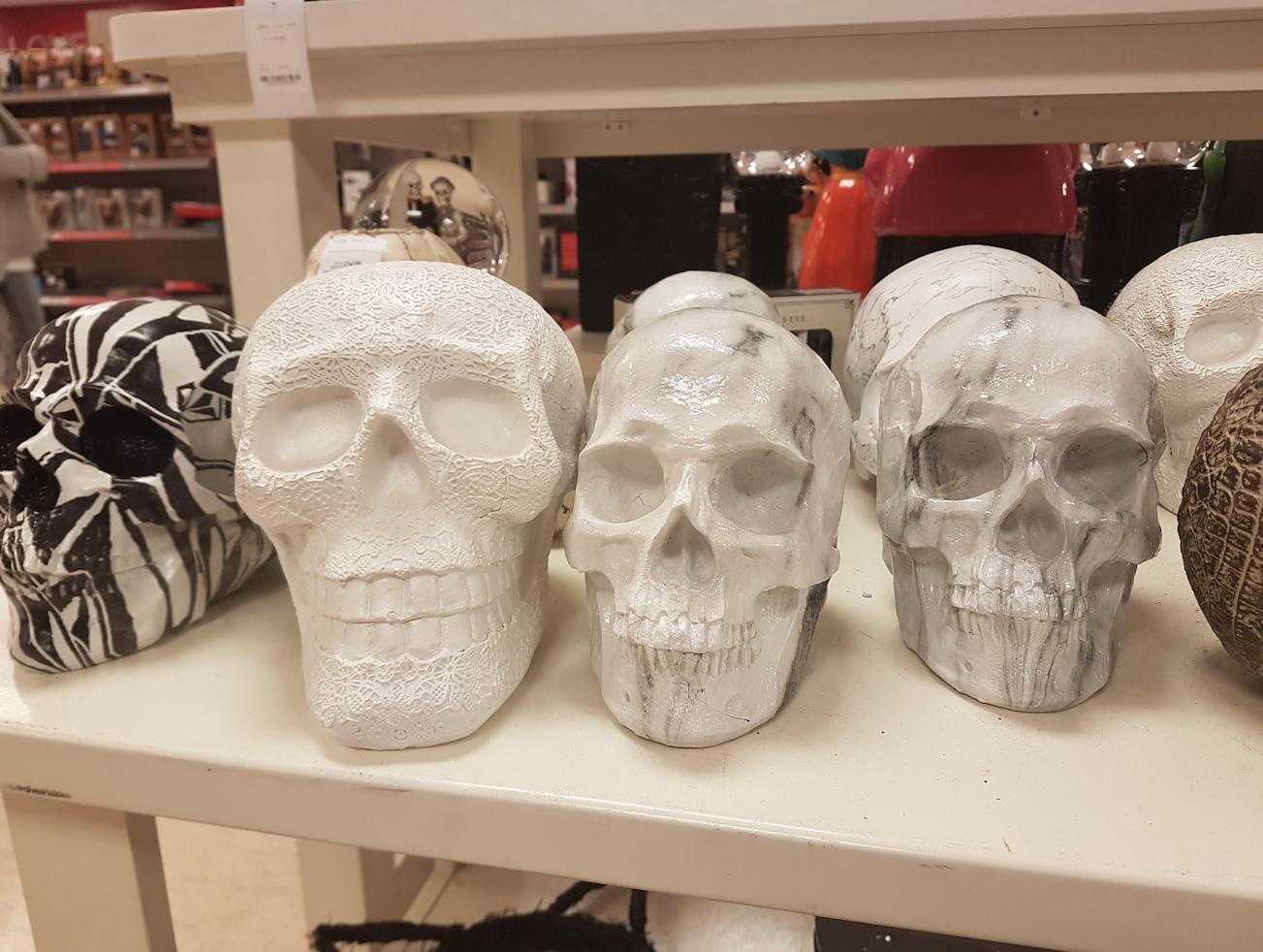 TK Maxx Store Review 2017 - Stone Skulls