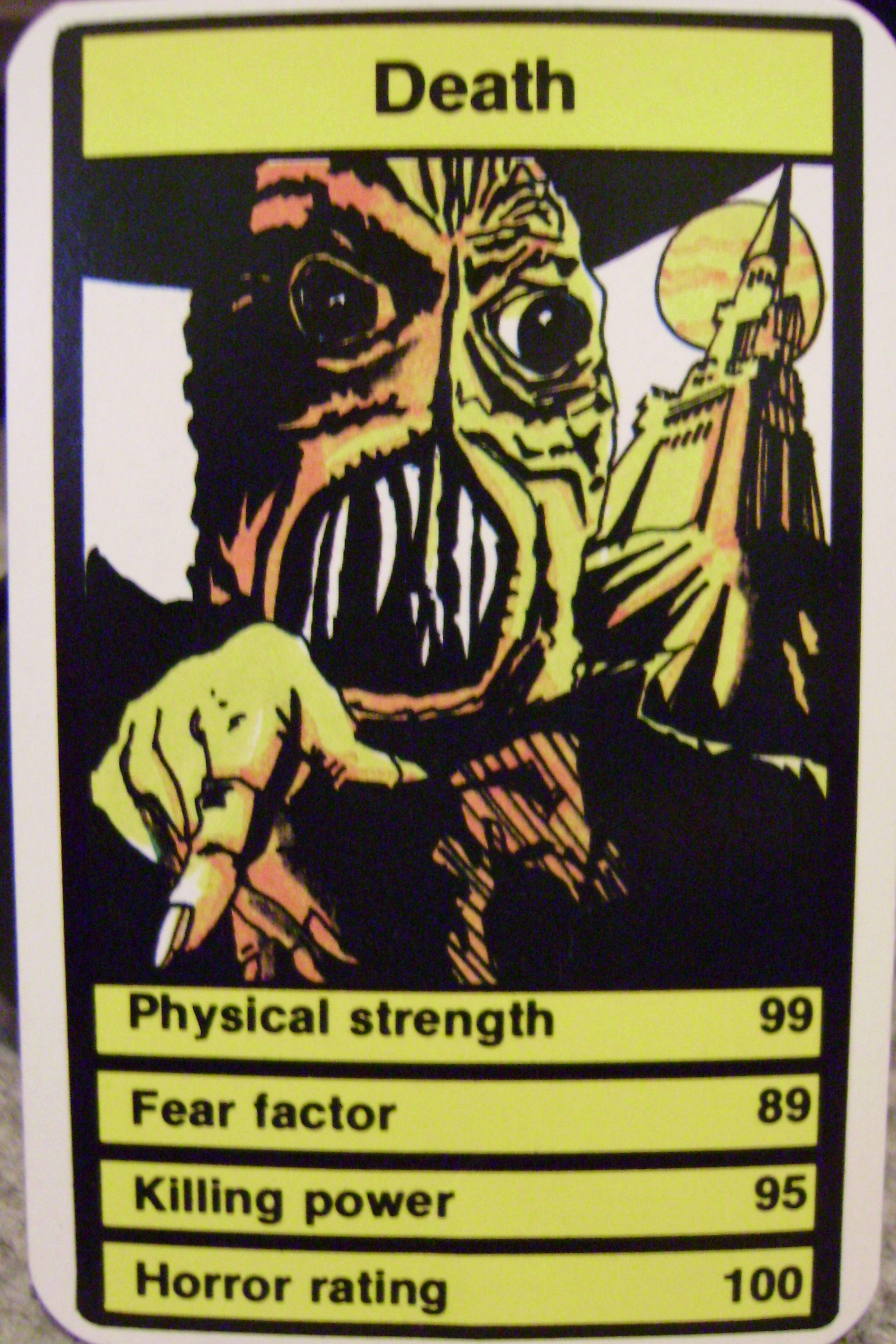 Top Trumps Death
