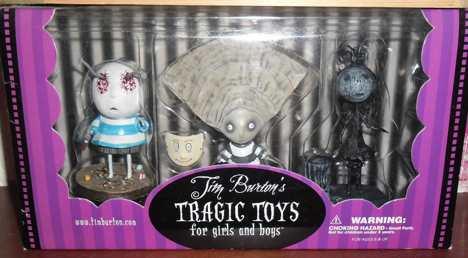 Tragic Toys For Girls And Boys.