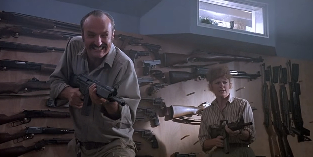 Tremors Cast : Michael Gross & Reba McEntire