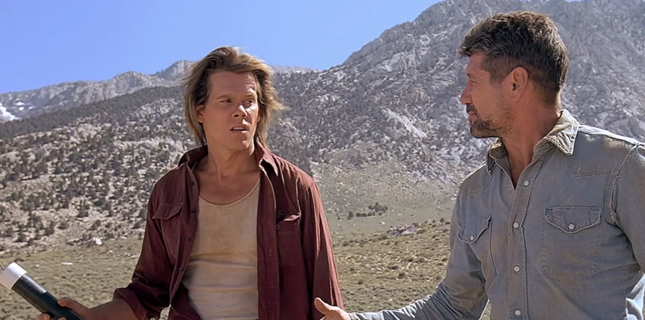 Tremors Cast : Fred Ward & Kevin Bacon