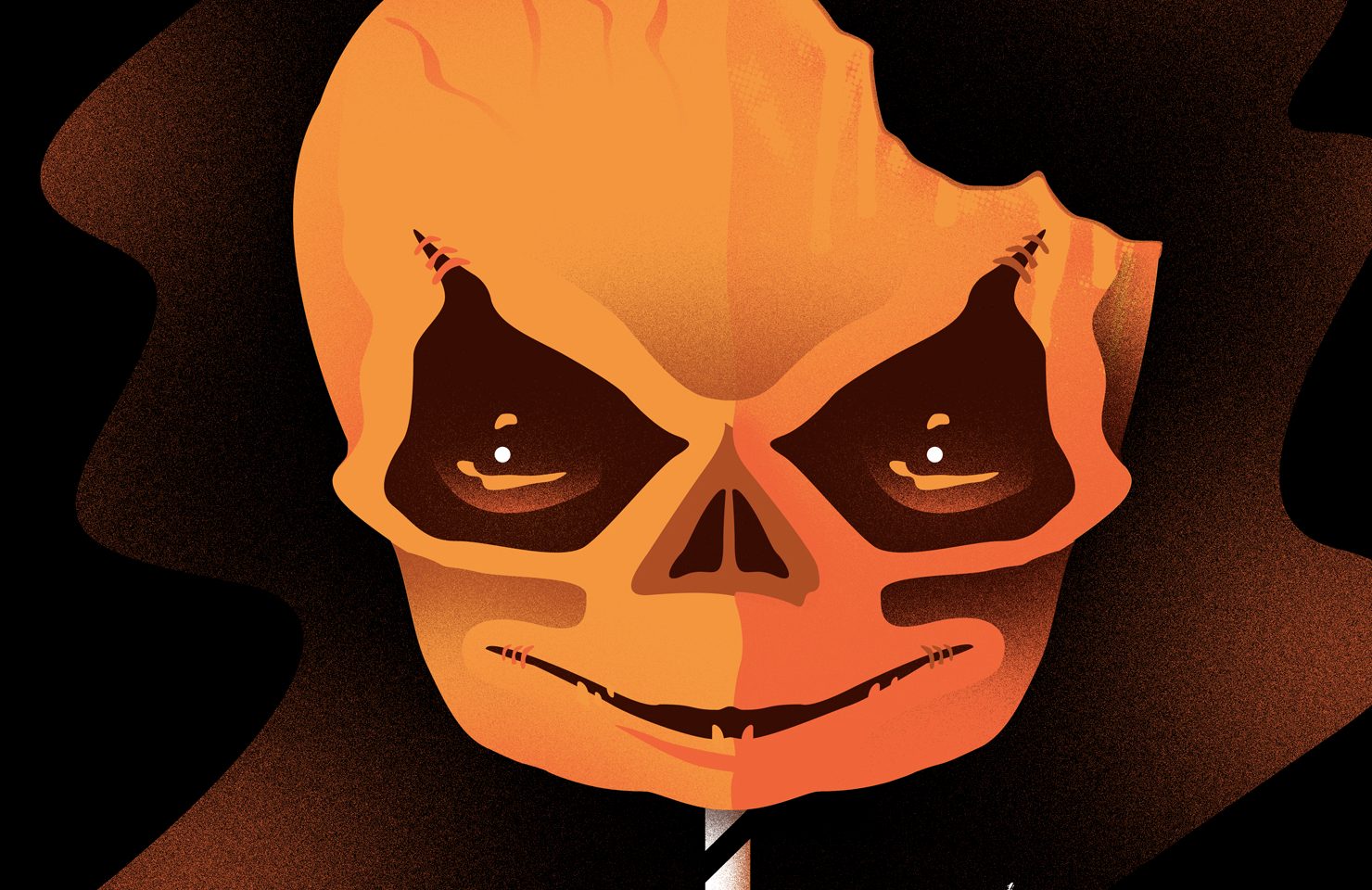 Trick 'r Treat Alternative Poster Art List - Halloween Love