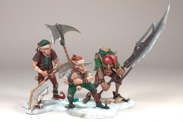 Twisted Christmas Elves