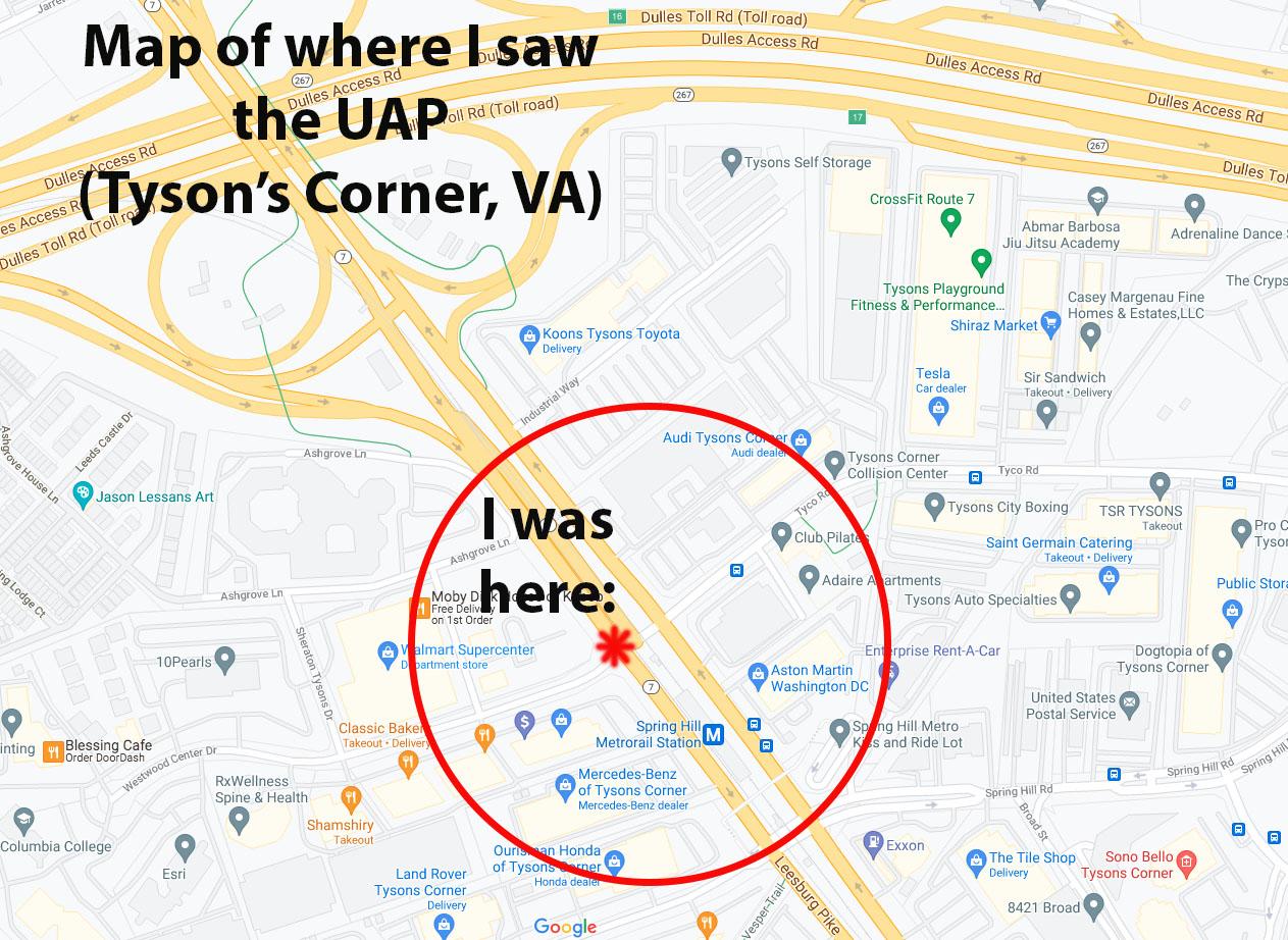 UFO Google Maps