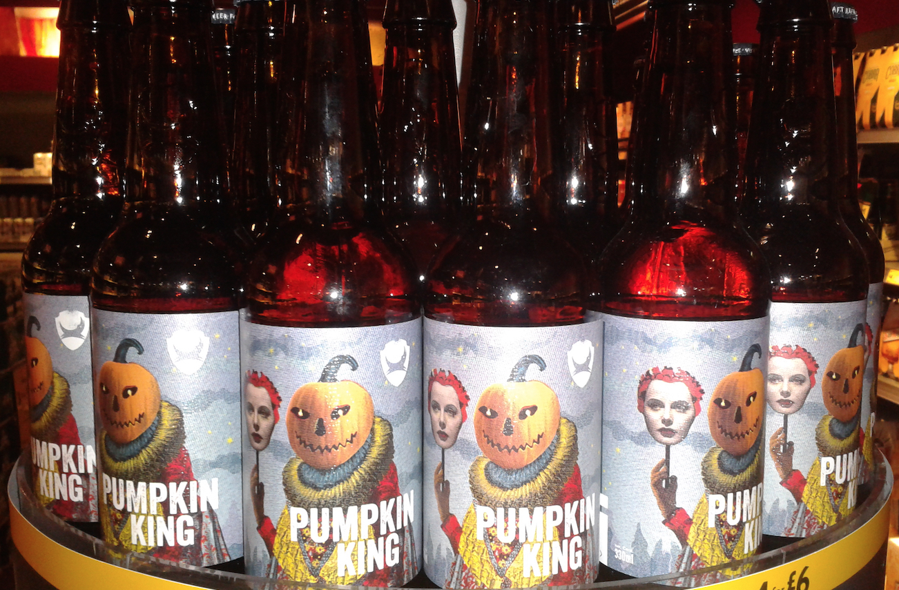 UK Halloween Beer - National Drink Beer Day 2016.