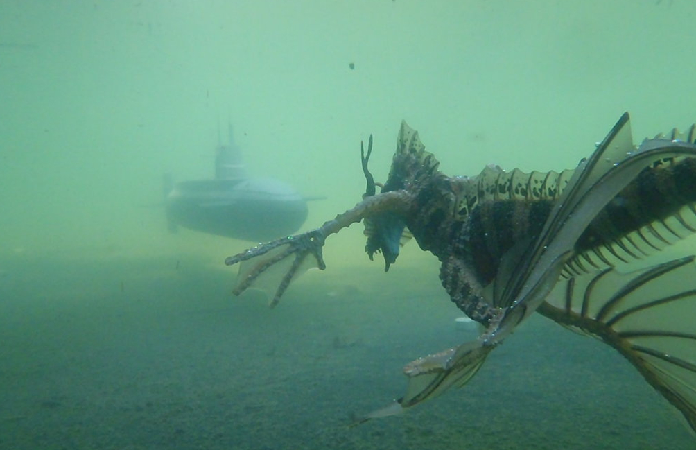 Underwater Monster Photos