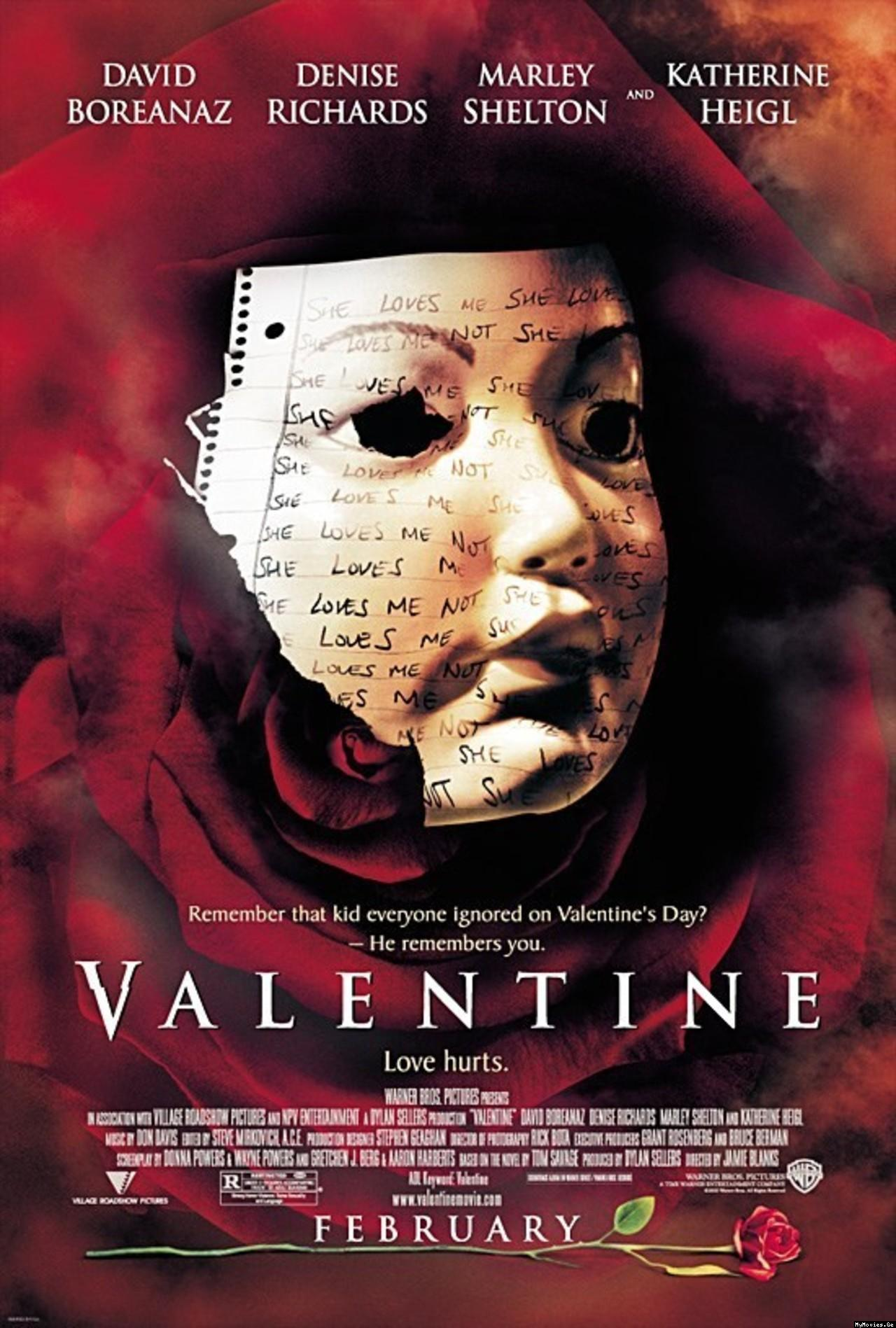 Valentine 2001 Poster