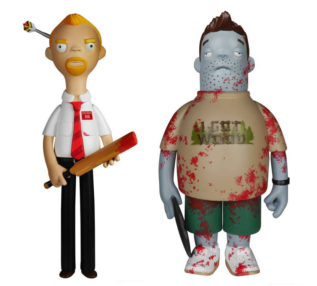 Shaun of the Dead toys
