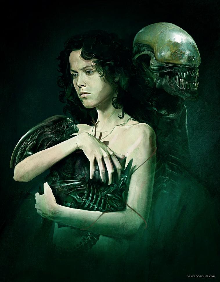 Vlad Rodriguez Natum Corpus Alien Art