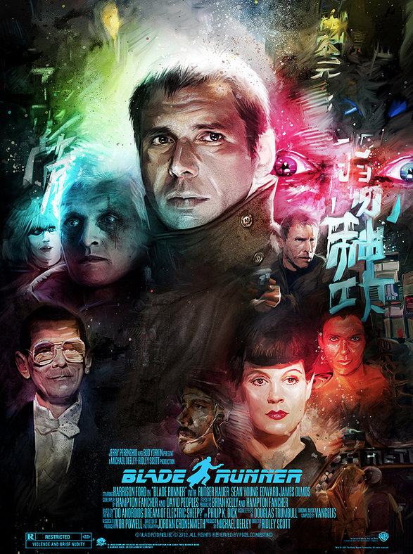 Vlad Rodriguez Blade Runner Poster Art