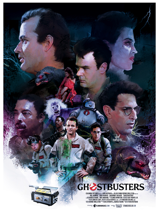 Vlad Rodriguez Interview Ghostbusters Poster Art