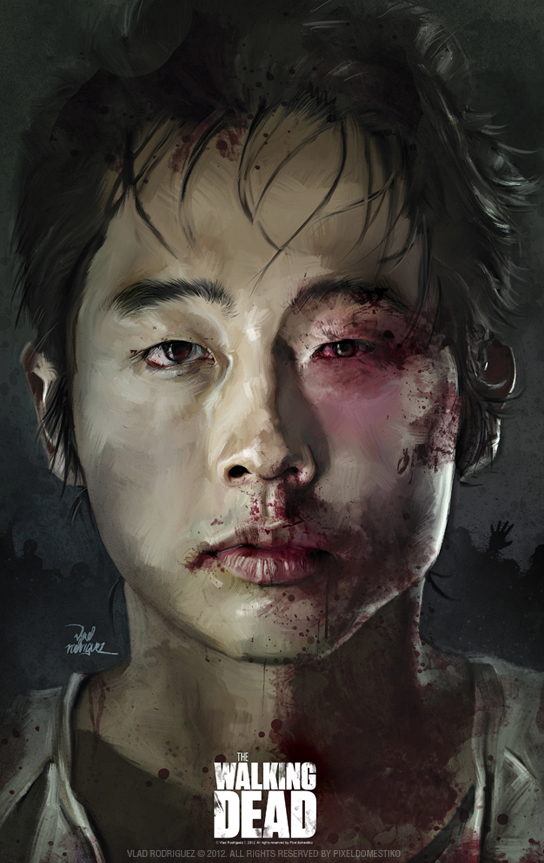 Vlad Rodriguez Interview Walking Dead Poster Art