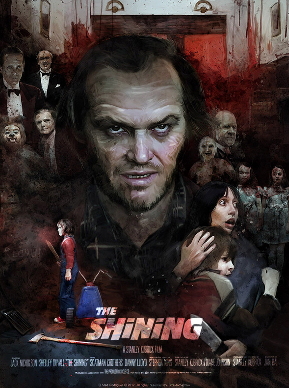 Vlad Rodriguez The Shining Interview Art