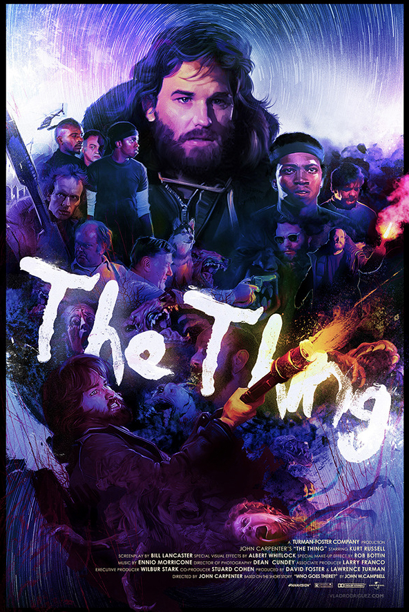 Vlad Rodriguez Interview The Thing Poster