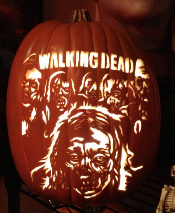 Walking Dead Pumpkin