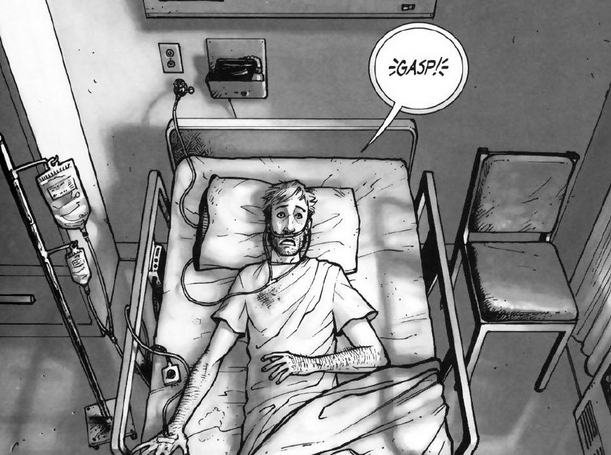 Walking Dead Rick Wakes Up