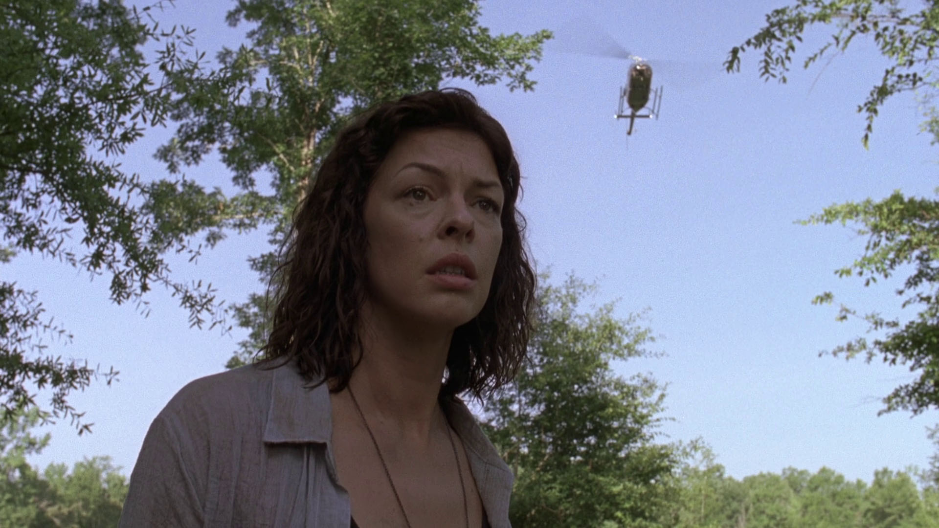 The Walking Dead — Helicopter
