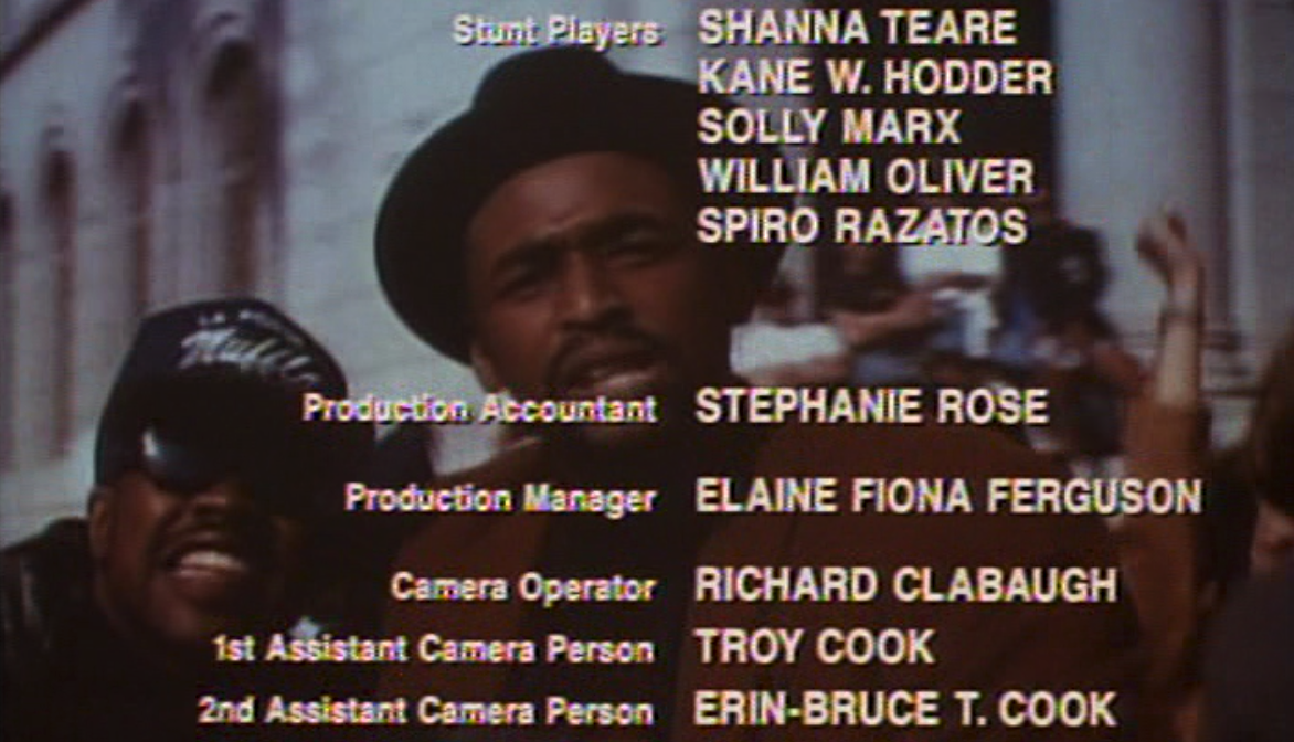 Waxwork End Credits Rap